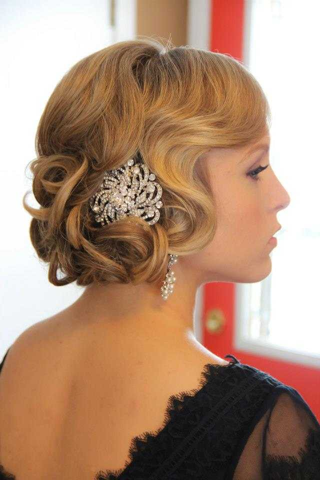peinados de fiesta Gatsby