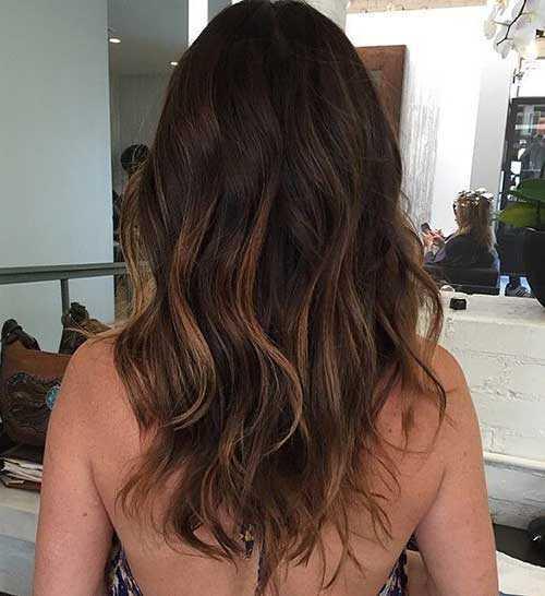 Las ideas de color de pelo para pelo oscuro-15