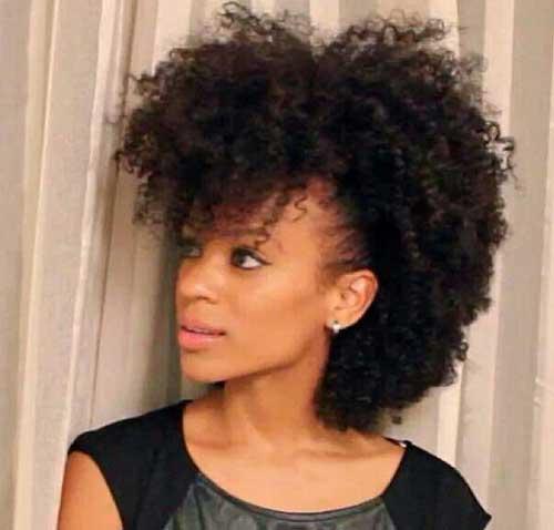 cortes de pelo corto para las mujeres Negro 2016-16