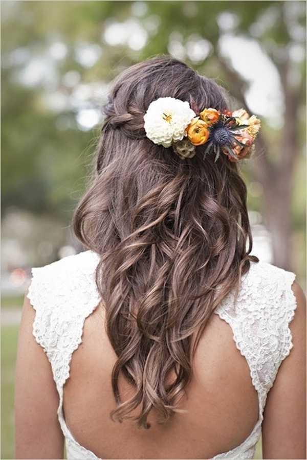 boho peinados de boda