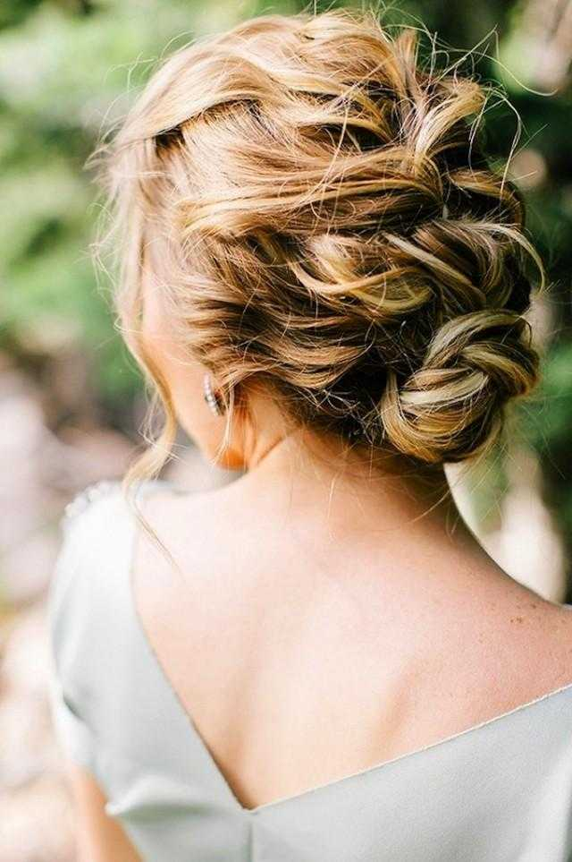 peinados de boda rústico