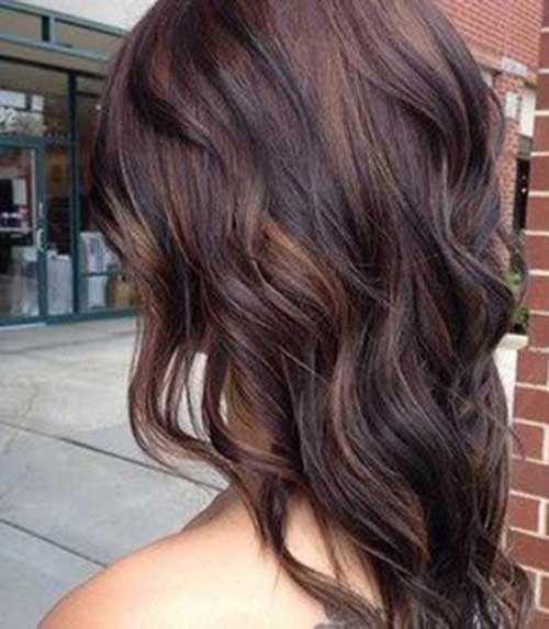 Las ideas de color de pelo para pelo oscuro-19