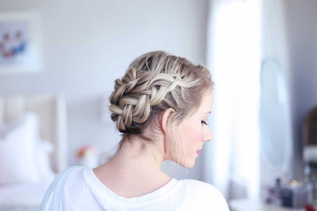 Corona de bricolaje fácil Braid | lindas chicas peinados