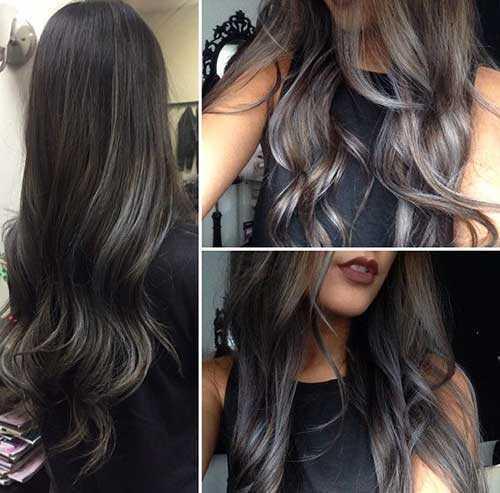 Las ideas de color de pelo para pelo oscuro-20