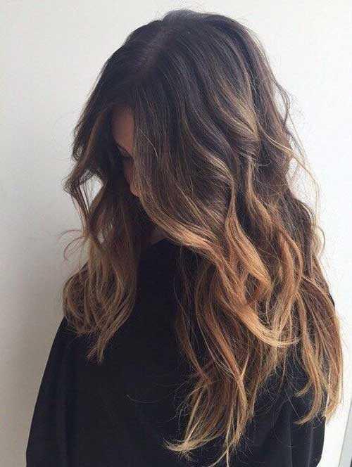 Las ideas de color de pelo para pelo oscuro-21