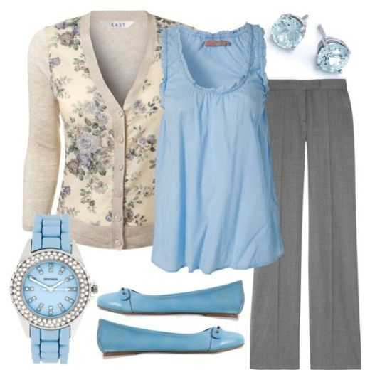 22 Super Maneras de llevar Azul bebé este otoño