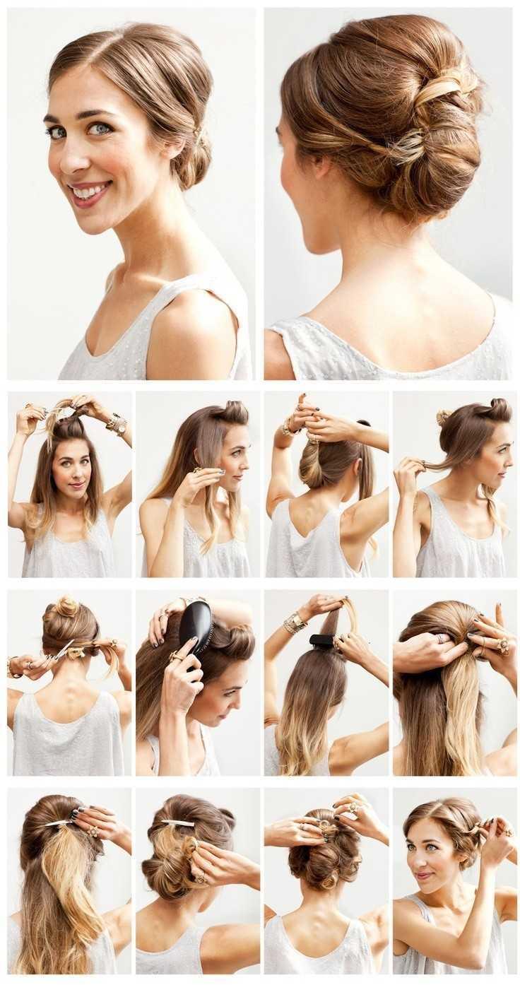 fáciles peinados de boda