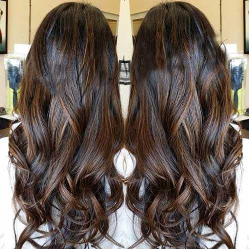 Las ideas de color de pelo para pelo oscuro-23