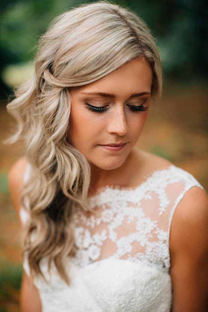 peinados casuales de la boda