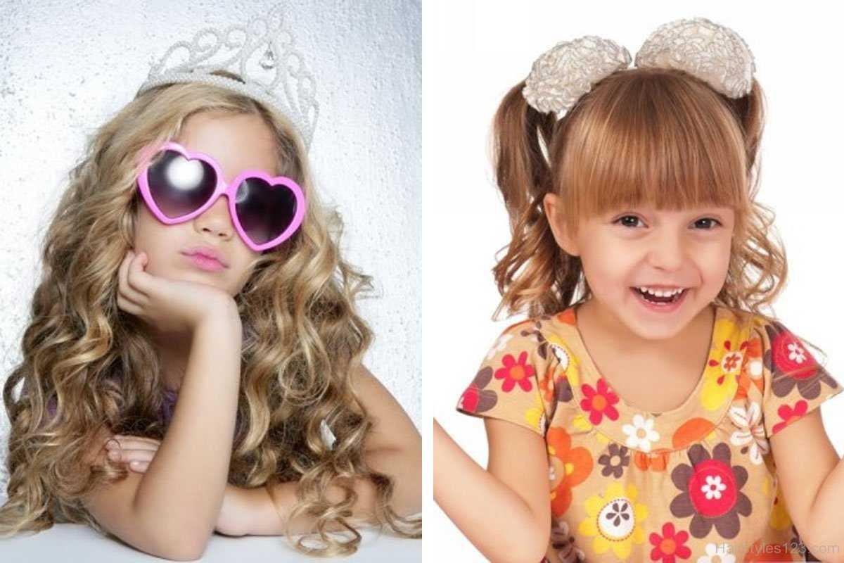 cortes de pelo rizado para los niños