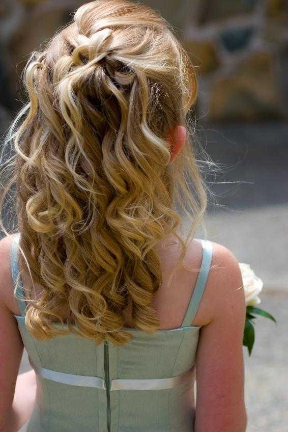 peinados de boda para los niños