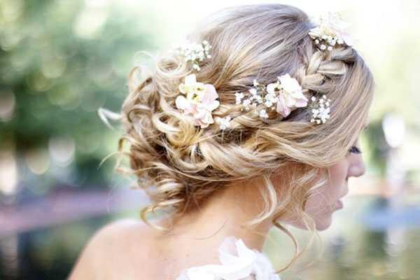 peinados de boda trenza
