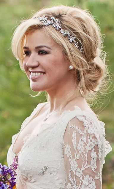 peinados de novia con diadema