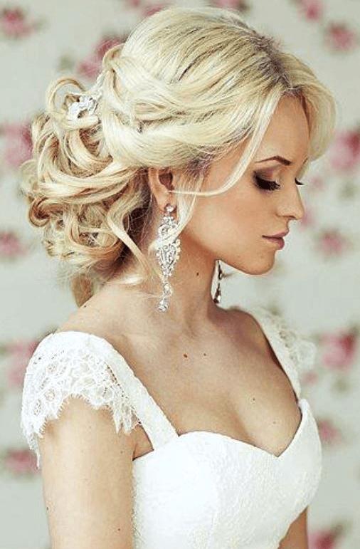 peinados de boda de la novia
