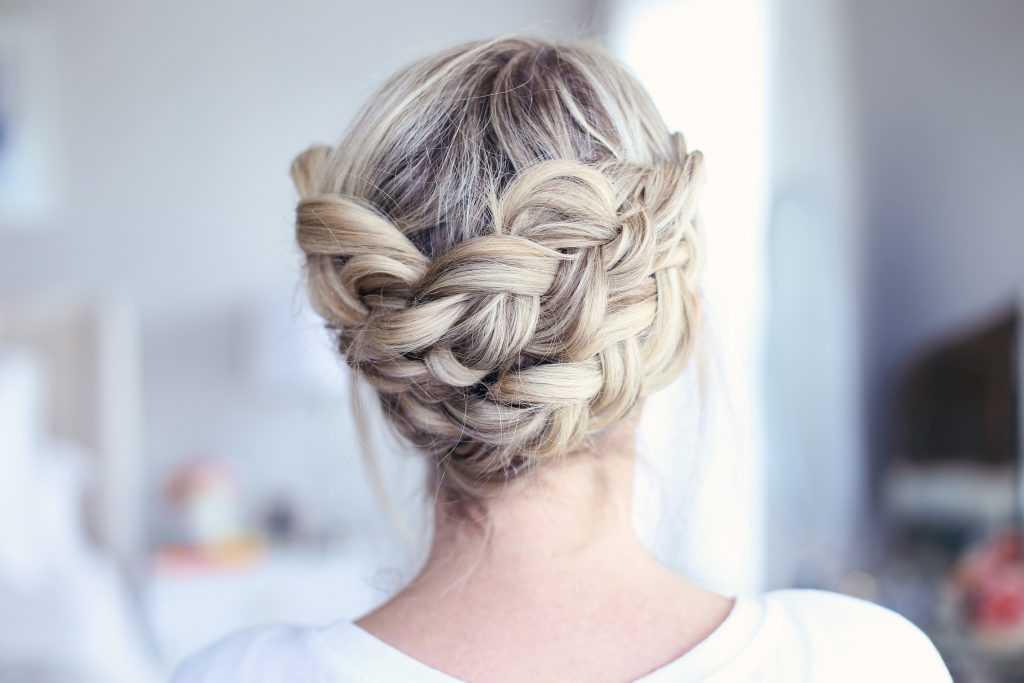 Fácil Corona Braid | lindas chicas peinados