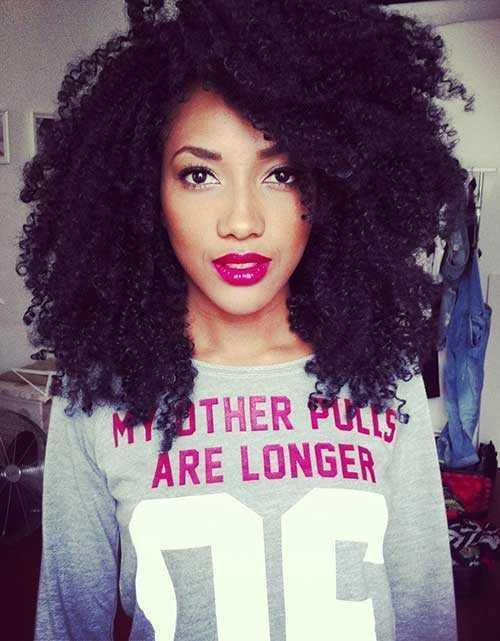 cortes de pelo rizado afro