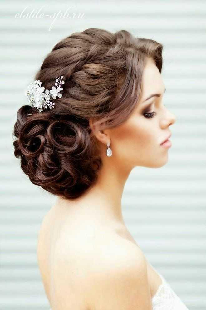peinados de novia trenza