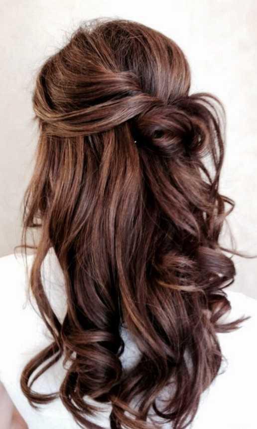 prom peinados para el pelo largo