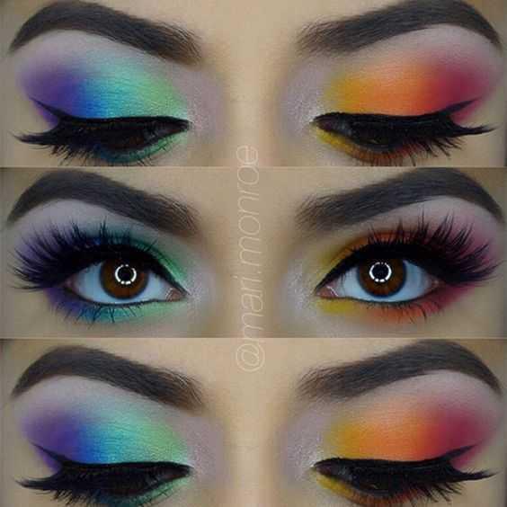 5 consejos sobre cómo saque coloridos ojos