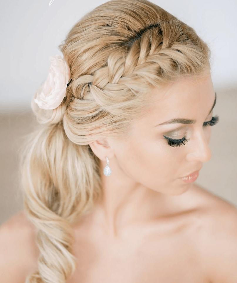 peinados únicos de la boda