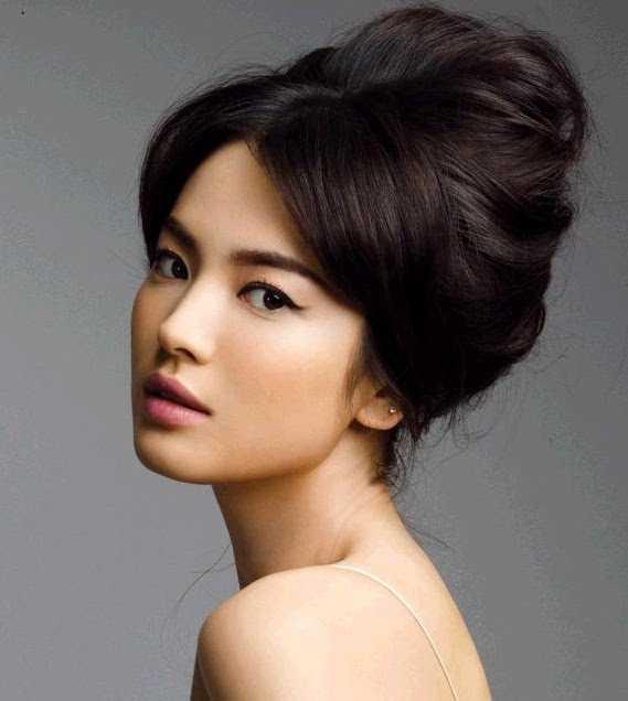 prom peinados asiático