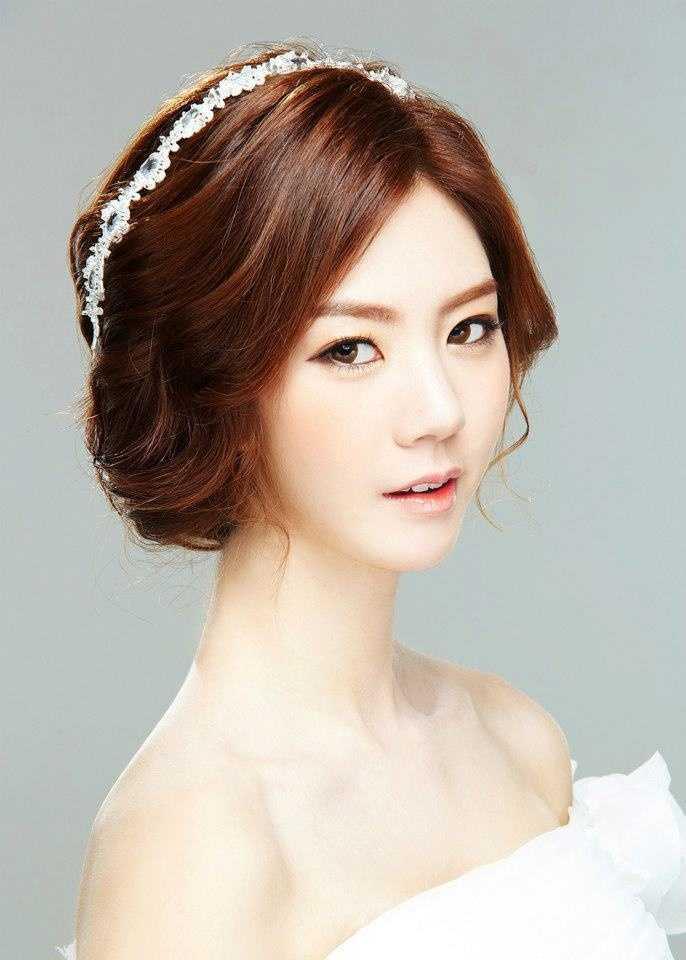 boda peinados asiático