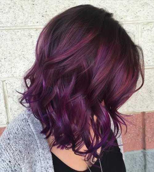 Las ideas de color del pelo para el pelo oscuro-6