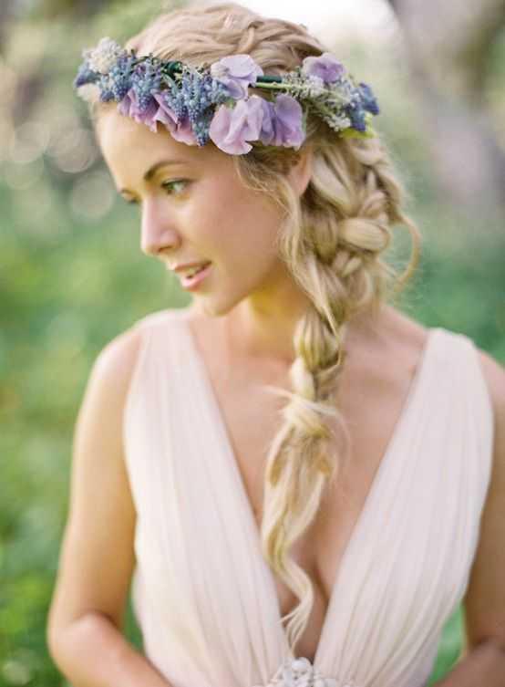hippie peinados de boda
