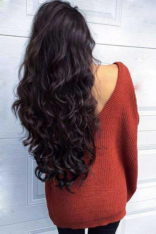 Las ideas de color del pelo para el pelo oscuro-7