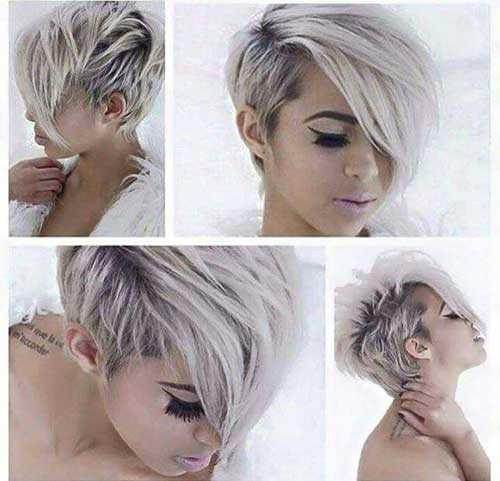 Rubia peinados cortos-9