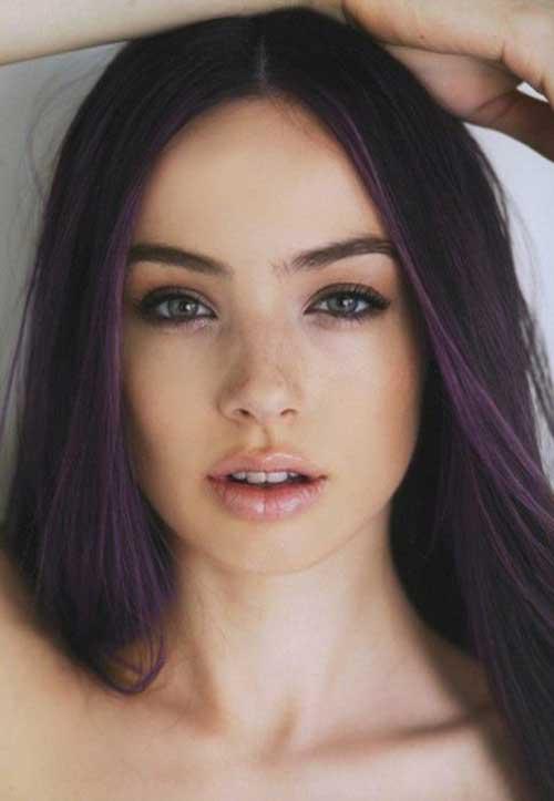 Las ideas de color del pelo para el pelo oscuro-8