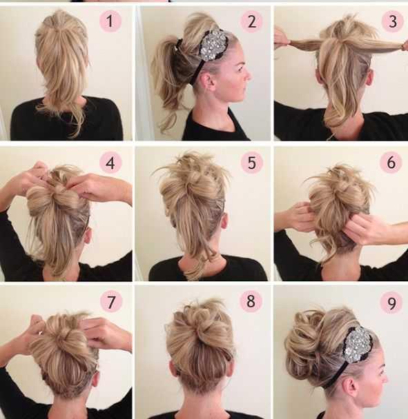 prom peinados fáciles