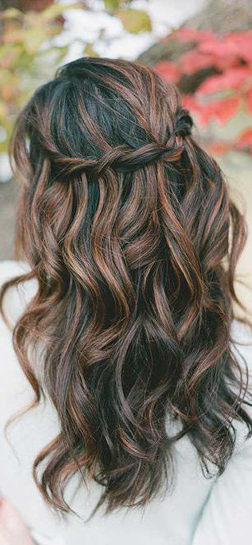 Las ideas de color del pelo para el pelo oscuro-9