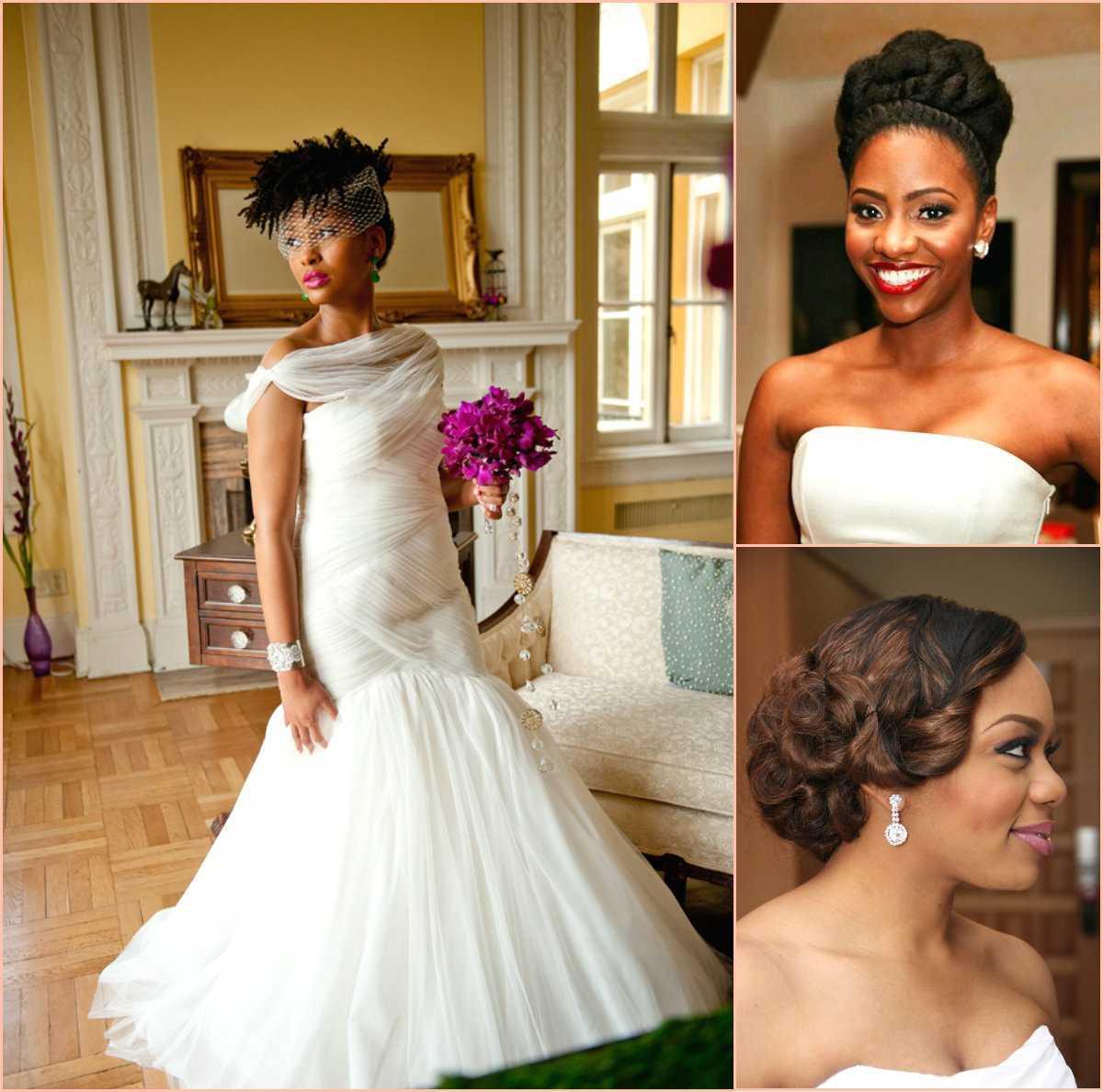 peinados mejor boda para las mujeres negras