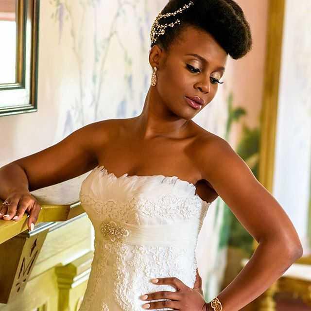 elegantes peinados updo boda