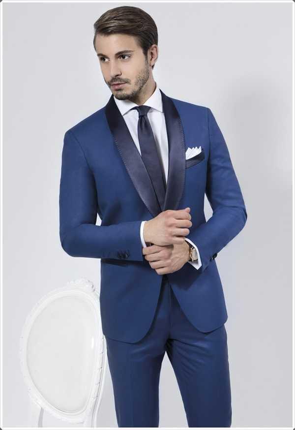 trajes azules son adecuados para todo tipo de negocio reuniones