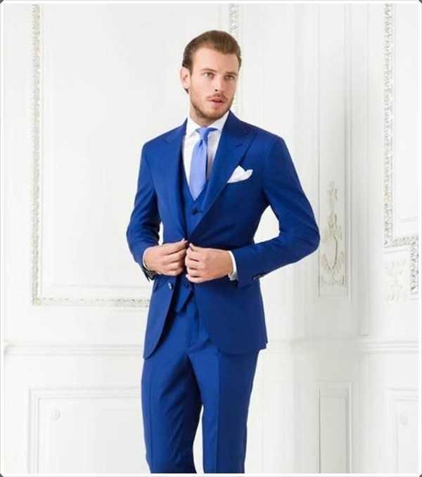 Blue está de moda en estos días