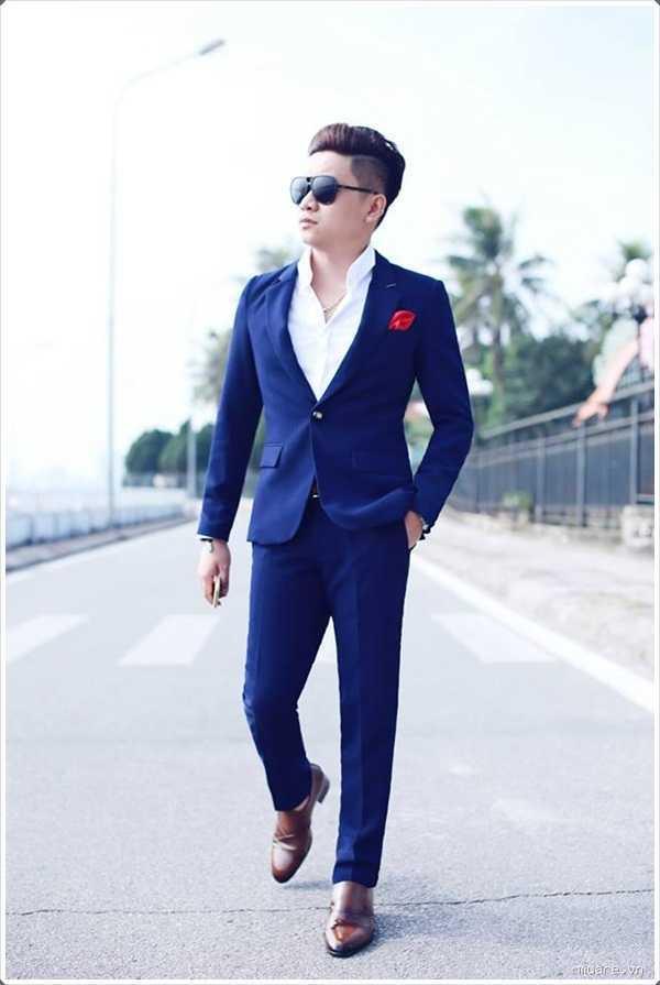 Prom night tamaño completo? impresionar a tu cita con un traje azul