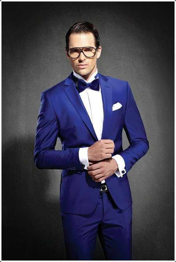 trajes azules son ideales para todas las ocasiones formales