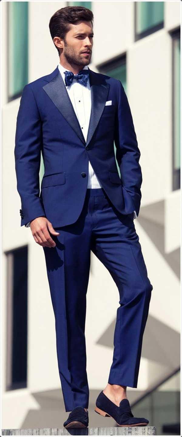 Tener zapatos azules? Obtener un traje azul con un par de ellos juntos.