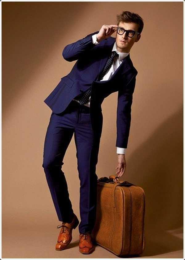 el ir en un viaje de negocios? Tome su traje azul a lo largo!