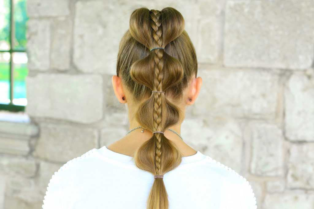Braid burbuja Stacked | linda chicas peinados