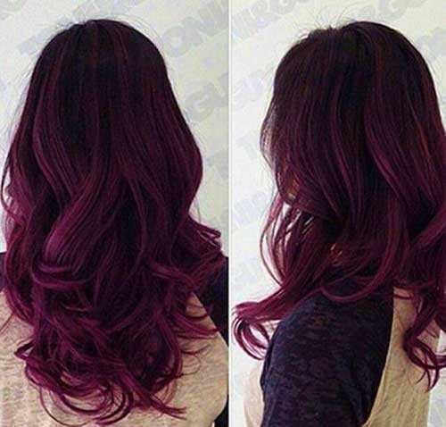 Ideas del pelo para el pelo oscuro