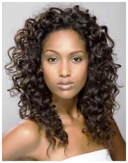 natural rizado peinados de las mujeres negras naturales Curly peinados para niñas
