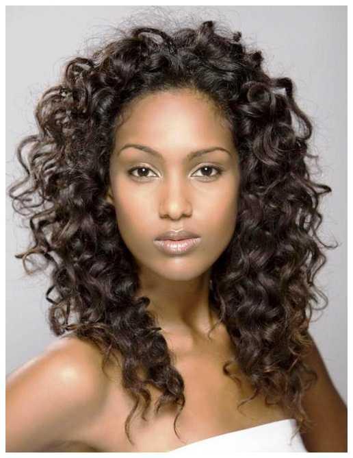 Natural Curly peinados para pelo largo y rizado natural Peinados para niñas
