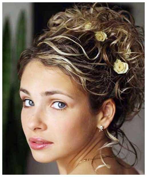 Natural Curly peinados para boda rizado natural Peinados para niñas