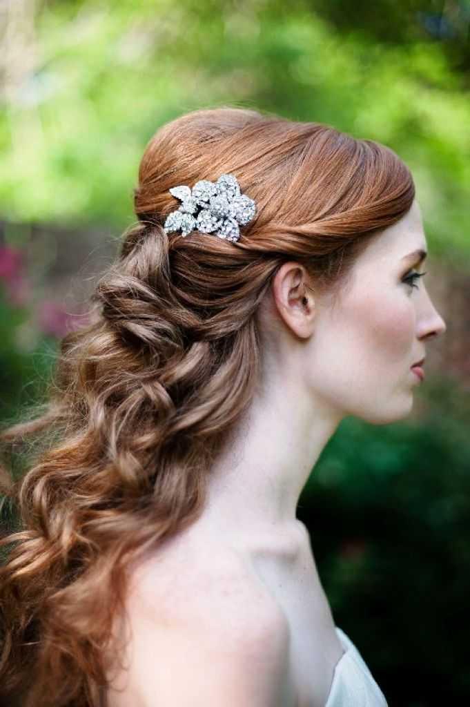 peinados retro de la boda para el pelo corto