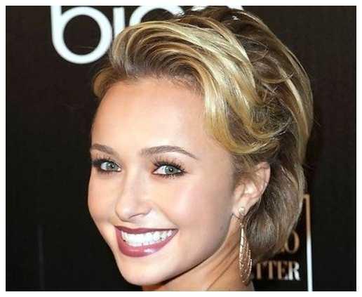 corto y rizado peinados para caras largas corto y rizado peinados para las mujeres