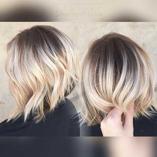 Rubia peinados cortos-6