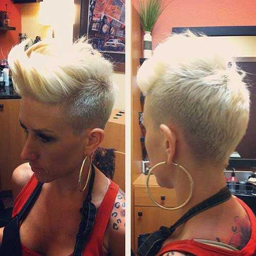 moda del pelo corto